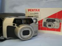 Pentax ESPIO 200 Camera Cased + Inst £19.99